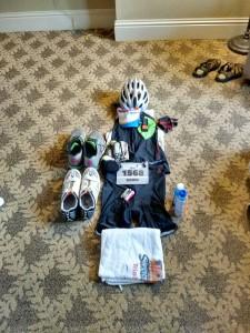 Flat David, ready to race